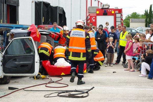 9 juin - Exercice des pompiers