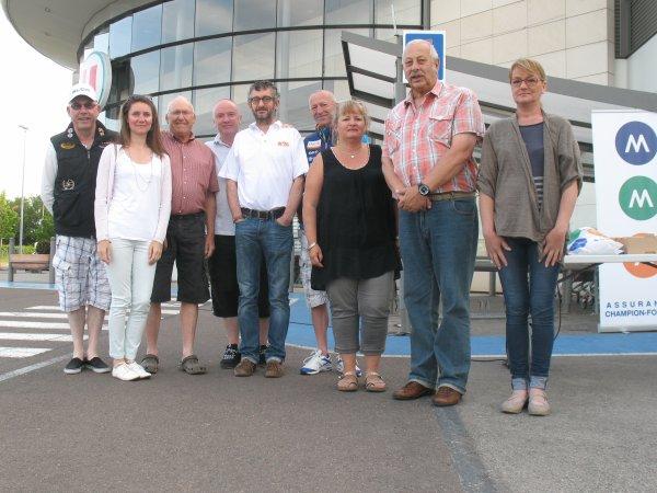 07-06-2015 - Départ Interclub BROCHON