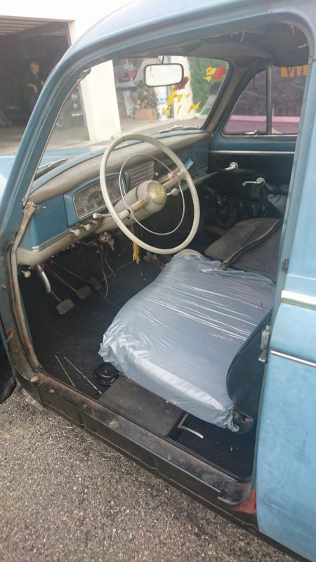 Restauration Peugeot 403