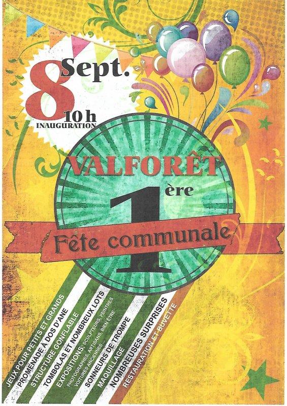 08 septembre 2019 - Valforêt