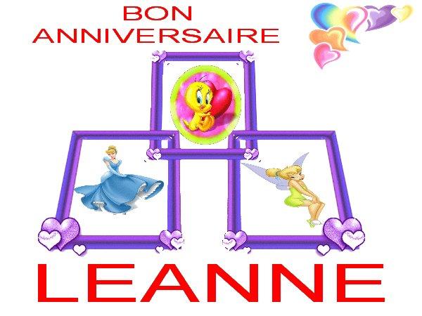 anniversaire Léanne
