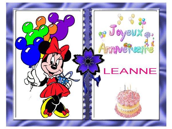 anniversaire Leanne
