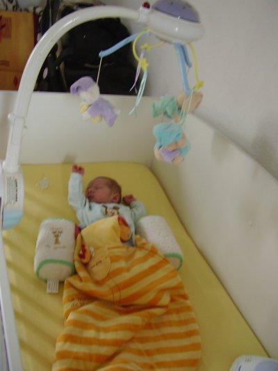 1er mois dans son lit