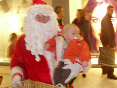 Avec le Père Noel le samedi 11 décembre 2010