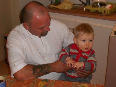 Avec papy