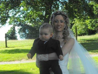 A notre mariage le 25 juin 2011