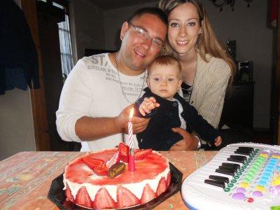 Son anniversaire avec ses autres grands-parents