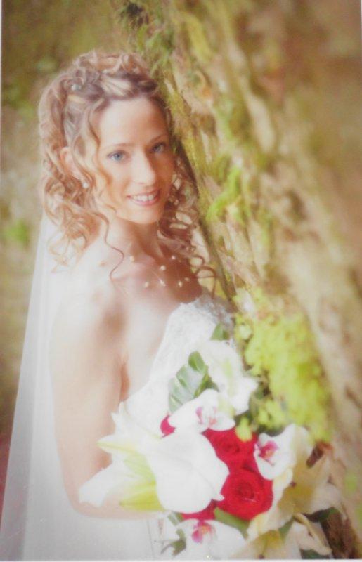 Photos prises par le photographes le jour de notre mariage