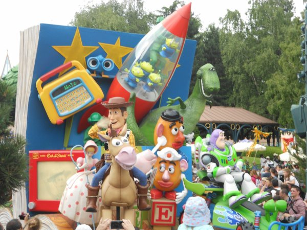 Week end à Disneyland - 2eme jour à Disneyland Park