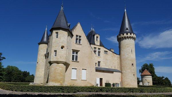 Déjeuner au Château d'Agassac