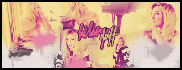 .  Bienvenue sur Hilary-Duff, ta nouvelle source d'actualité sur la belle Hilary Duff ! Suis jour après jour toute l'actualité de la jeune actrice et chanteuse, Hilary Duff, à travers divers articles tels que ses candids, shoots, events, ect...   .
