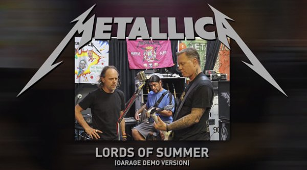 Metallica / Lord Of Summer [Garage Version- démo] (2014)