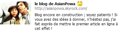 Blog de AsianPowa
