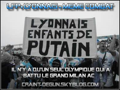 le seul olympique ALLEZ L'OM om FOR EVER