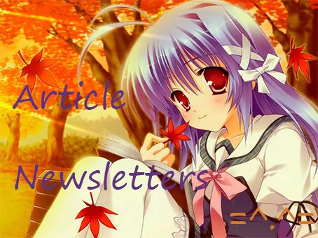 Article Newsletters !! <3