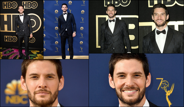 17.09.2018 : Ben Barnes enfin de sortie était présent aux « Emmy Awards » situé dans la ville de  Los Angeles