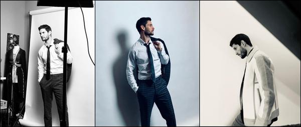 Découvre le photoshoot de Ben Barnes pour « CIVILIAN MAGAZINE » de 2018
