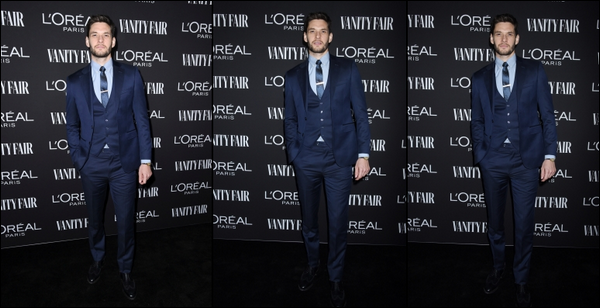 21.02.2019   ▬ Ben Barnes était au  « Vanity Fair and l'Oréal Paris Celebrate New Hollywood » à - Los Angeles   Il n'y a peu de photos de Ben Barnes , Néanmoins il est très élégant dans son costume bleu , Pour moi c'est un top !