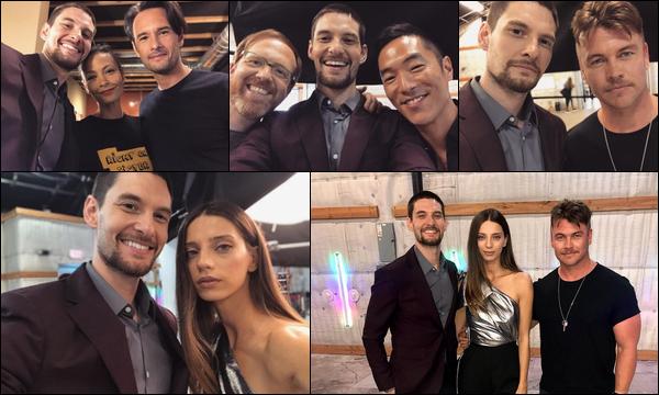 15.04.2018 : Ben était avec Luke Hemsworth à la conférence de presse de la série « Westworld » à Los Angeles