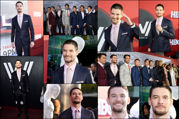 16.04.2018 : Ben Barnes était présent à la première de la saison 2 de la série « Westworld » à Los Angeles