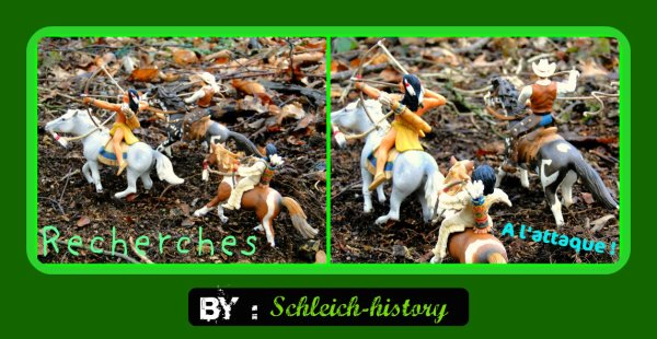 New history Les Indiens en pleines recherches . New history