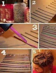 Diy : personnalisé vos pinces à cheveux