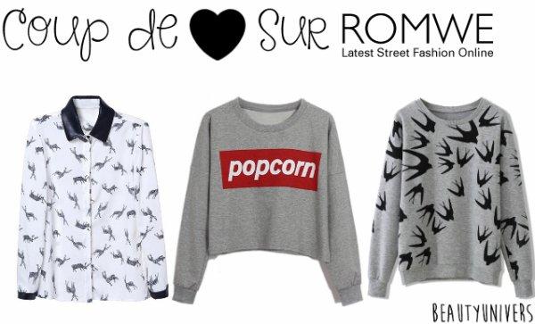 ROMWE | Boutique en Ligne pour Fashionistas !