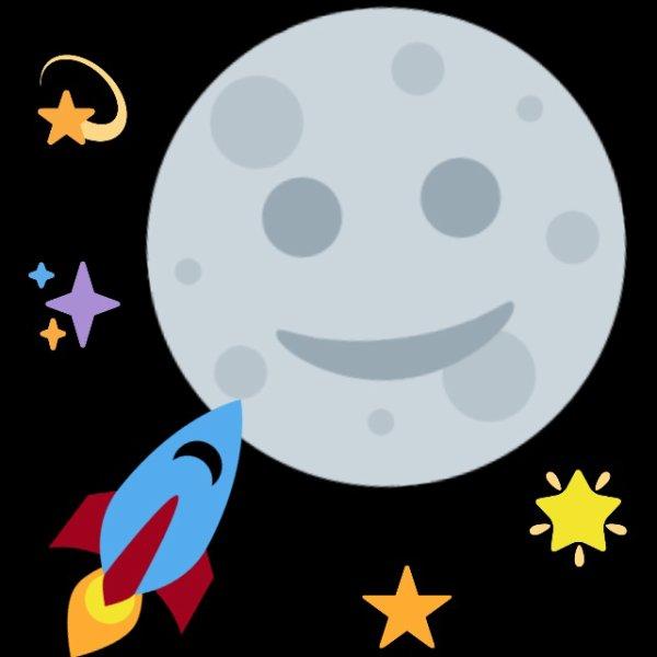 《Tu veut aller sur la lune ? Oui ..  Bah alors vasi ! Non.. Pourquoi  ne veut tu pas y aller si c'est  ton rêve  ? Car je ne veut pas être  loin de toi 》