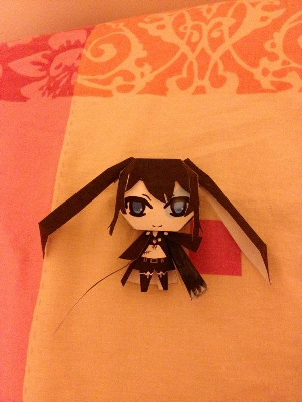 Un papercraft Blackrock Shooter.