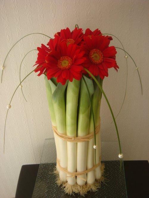 Articles de perrine53 tagg s concours blog de perrine53 - Composition florale avec fruits legumes ...