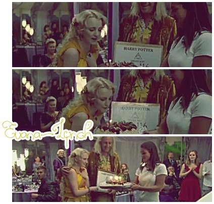 Evanna souffle ses bougies sur le tournage d'HP