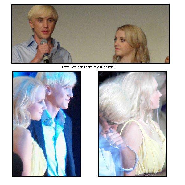 Evanna en compagnie du charmant Tom Felton pour la premiere de HP en Grece , le 25 août.Partie 1 Partie 2  Partie 3  Partie 4  Partie 5