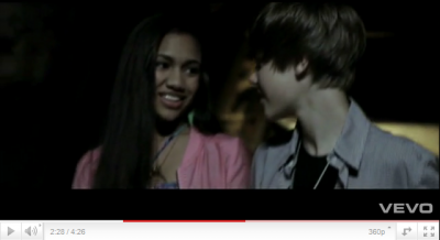 Flash Back : Clip video's Jasmine & Clip video's Justin .