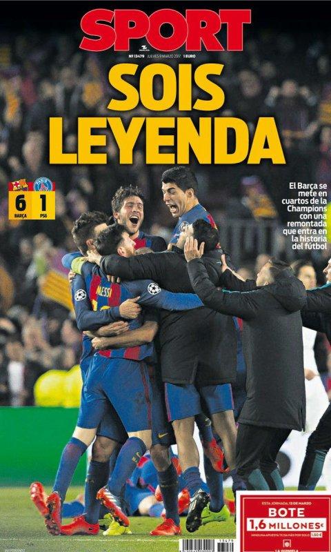 Réactions de la presse face au match de leyenda !