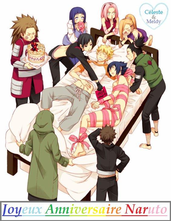 Joyeux Anniversaire Naruto !!! (En retard je sais =_=)