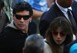 maradona see mondial2014 and ho is life