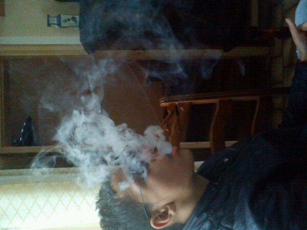 Fume avent ke la vie te fume