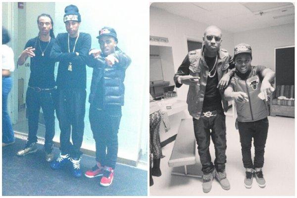 """24 Novembre 2013: Jacquees était à Atlanta en compagnie de RichHomieQuan pour la sortie de sa nouvelle mixtape """"Feed The Streets"""" + quelques photos Instagram"""