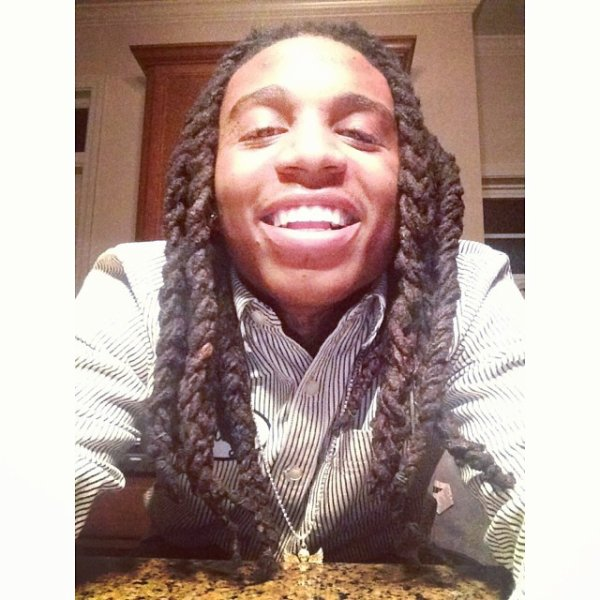 7 Février 2014: Jacquees était avec ses amis et a profiter pour posté des photos