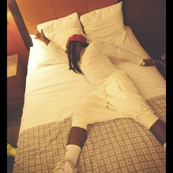 13 Avril 2014: Jacquees était a Atlanta et a posté de nouvelles photos