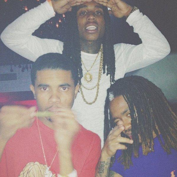 22 Avril 2014: Jacquees, Trinidad James et Rich Homie Quan étaient dans un club pour fêté l'anniversaire de Jacquees