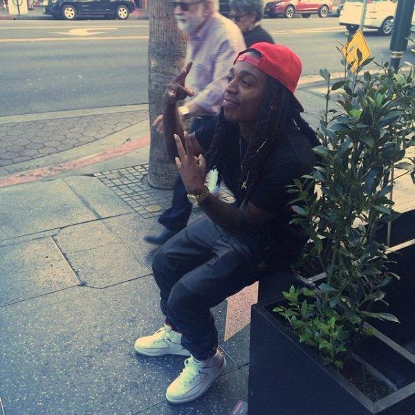 20 Juillet 2014: Jacquees était sur Hollywood Boulevard