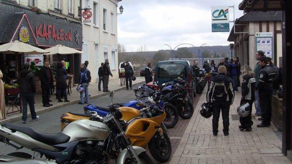 Pour s'organiser une sortie moto :