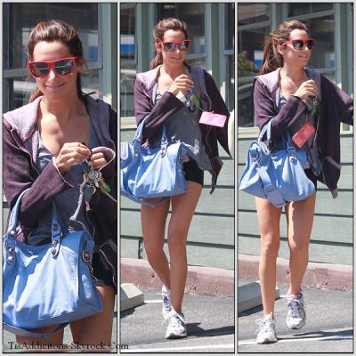 Le mardi 07 juin Ashley faisait son jogging