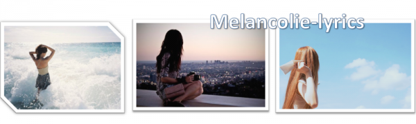 melancolie-lyrics