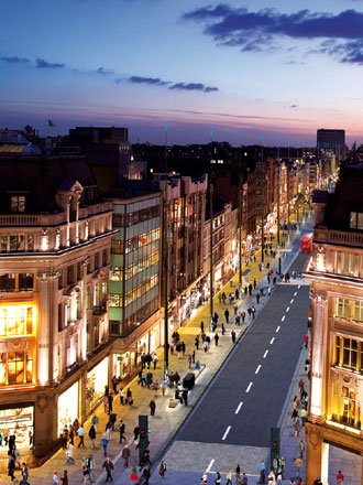 Oxford street, Regent street, le shopping!