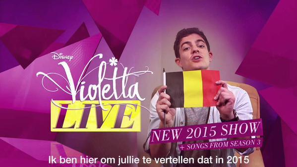 Tournée Violetta Live - Kracovie