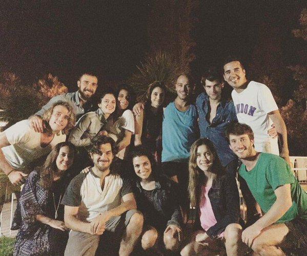 Cande Lodo Alba Clara Diego - Retrouvailles à Buenos Aires