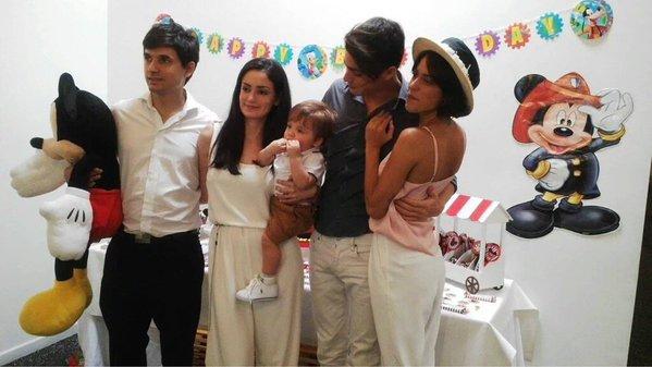 Tini - Baptême de Mirko, son filleul