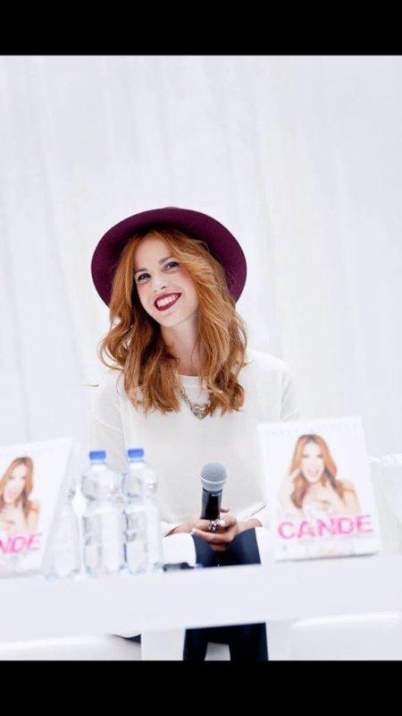 Cande - Promotion de son livre en Pologne